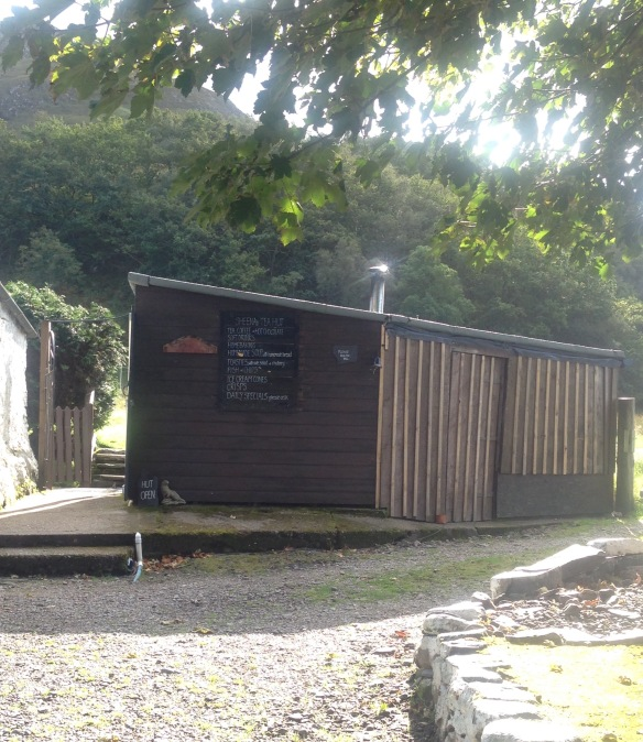 The Tea Hut at the end of Corran village